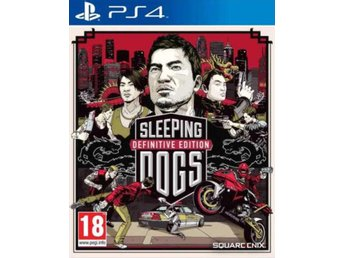 Sleeping Dogs - Definitive Edition - Playstation 4