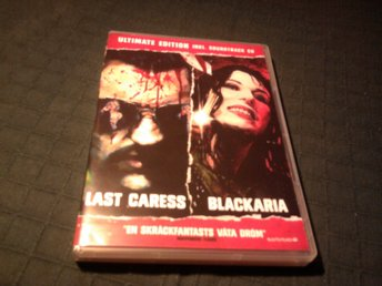 last caress + blackaria 2-DISC gore giallo sleaze splatter njutafilms + musik-CD