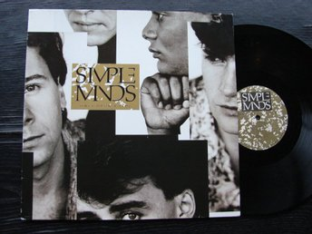 SIMPLE MINDS - Once upon a time   Virgin Tyskland -85  LP