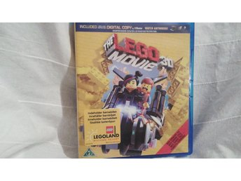 DVDfilm The Lego Movie, Blue ray i 3D