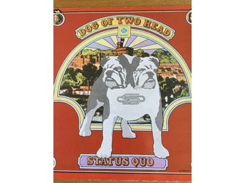 Status Quo Dog of Two Head Gatefold