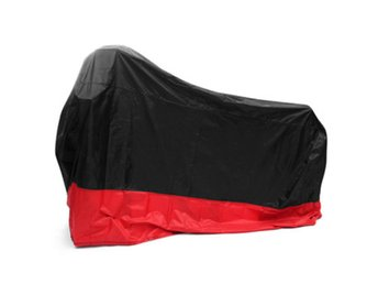 190T Waterproof Motorcycle Cover UV Protector Anti Wind R...