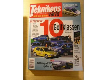 TEKNIKENS VÄRLD NR 21 1998    JEEP GRAND CHEROKEE ,M.M