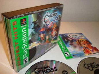 Playstation - Chrono Cross / Fint skick