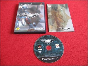ZONE OF THE ENDERS till Playstation 2 PS2 - Blomstermåla - ZONE OF THE ENDERS till Playstation 2 PS2 - Blomstermåla