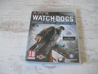 Watch Dogs Special Edition(Nytt i plast)(SPEL PÅ SVENSKA) - Grums - Watch Dogs Special Edition(Nytt i plast)(SPEL PÅ SVENSKA) - Grums
