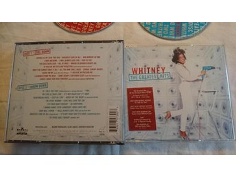 Whitney Houston - The Greatest Hits. 2 CD.