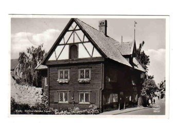 Visby - Burmeisterska huset ~1949 - Segeltorp - Visby - Burmeisterska huset ~1949 - Segeltorp