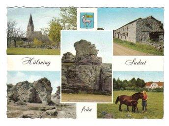 Gotland - Flerbildsvy, Pressbyrån FT 24156 - Segeltorp - Gotland - Flerbildsvy, Pressbyrån FT 24156 - Segeltorp