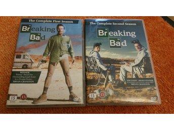 Breaking Bad, säsong 1 & 2, dvd - Glumslöv - Breaking Bad, säsong 1 & 2, dvd - Glumslöv