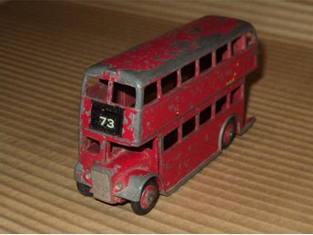 Dinky Toys 291 / Double Decker Bus / Made in England