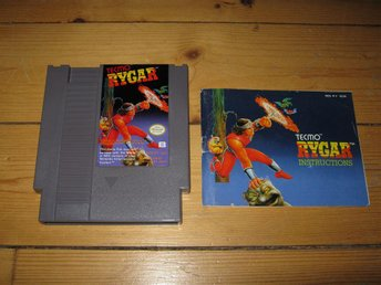 NES/PAL: Rygar + manual (SCN)