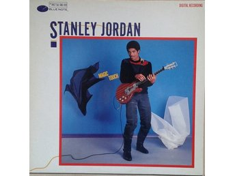 Stanley Jordan title* Magic Touch* Jazz LP EU