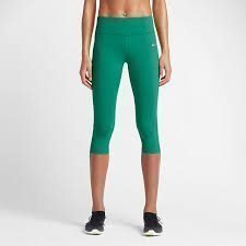 Nike Nike Epic lux tights Capris Women's MEDIUM Gröna NYA!
