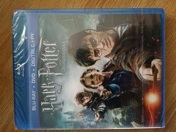 BLU-RAY +DVD + DIGITAL Harry Potter! !!!!