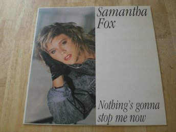 "Samantha Fox - Nothings Gonna Stop Me Now 12"" [ EX ]"