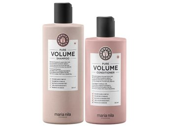 ! MARIA NILA PURE VOLUME DUO SHAMPOO+CONDITIONER FULLSTORLEK