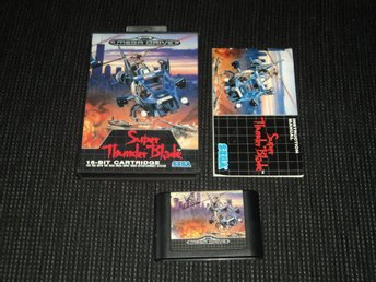 MD Mega Drive Super Thunder blade