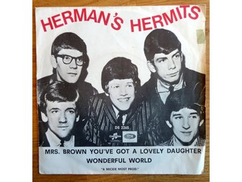 Singel: Herman's Hermits, Mrs Brown you've got a lovely daughter