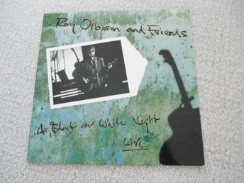 LP : ROY ORBISON : A BLACK AND WHITE NIGHT LIVE 1989
