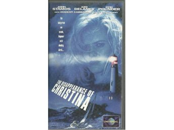 THE DISAPPEARANCE OF CHRISTINA   (SVENSK TEXT -VHS FILM )