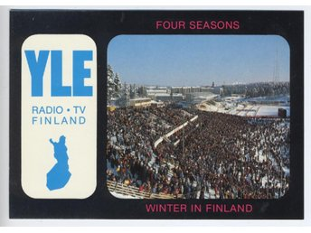 LAHTI SKID STADION  RADIO STATION FINNISH BROADKASTNING COMP
