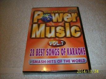 KARAOKE - POWER MUSIC VOL.7 (NY INPLASTAD) - åstorp - KARAOKE - POWER MUSIC VOL.7 (NY INPLASTAD) - åstorp
