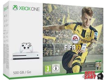 Xbox One Slim 500GB Vit (inkl. Fifa 17) - Norrtälje - Xbox One Slim 500GB Vit (inkl. Fifa 17) - Norrtälje