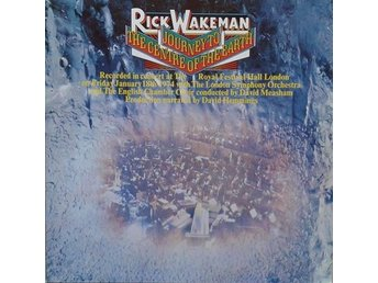 Rick Wakeman title* Journey To The Centre Of The Earth* Germany LP