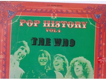 The Who: Pop History Vol. 4 - dubbel-LP