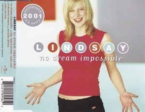 "Eurovision 2001 United Kingdom Lindsay Dracass ""No dream impossible"" CD-single"