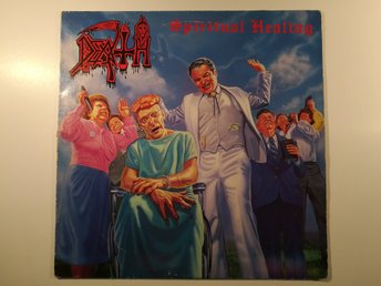 Death - Spirtual Healing (Under One Flag FLAG 38, UK, -90)