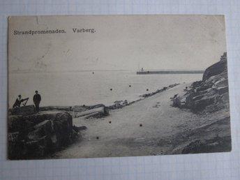 Varberg - Strandpromenaden 1911 - Segeltorp - Varberg - Strandpromenaden 1911 - Segeltorp