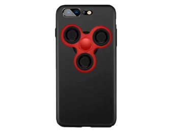 Skal med löstagbar Fidget Spinner till iPhone 7 Plus