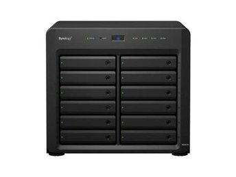 Synology DS2415+ DiskStation, 12-bay, Intel Atom quad-core 2,4 GHz CPU, 2GB RAM