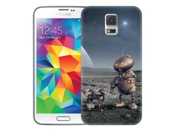 Samsung Galaxy S5 Skal Space Robots