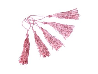 Tassel dekoration 80 mm 20-Pack - Rosa