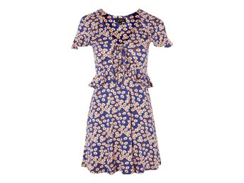 NY! TOPSHOP Daisy Frill Tea Dress UK 8