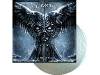 Immortal -All shall fall lp Silver vinyl ltd 300 copies Blac