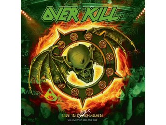 Overkill -Live in Overhausen vol.2: Feel the fire dlp Thrash