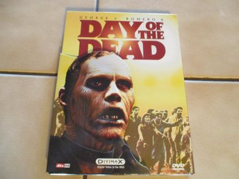 day of the dead dvd horror skräck george a romero anchor bay tom savini gore OOP