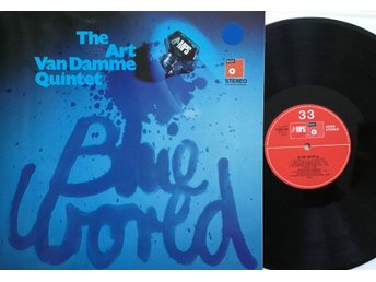 ART VAN DAMME QUINTET, LP. BLUE WORLD. MPS 1970.
