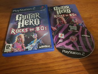 GUITAR HERO ROCKS THE 80S PS2 BEG