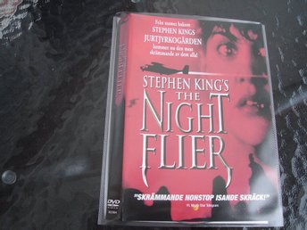 DVD-THE NIGHT FLIER *Stephen King's*
