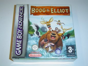 Boog & Elliot Nintendo Gameboy Advance GBA *NYTT*