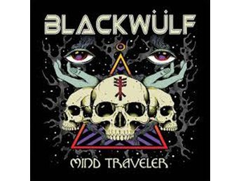 Blackwulf - Mind Traveler - LP NY - FRI FRAKT