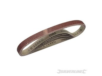 Sanding Belts 13 x 457mm 5pk 60 Grit