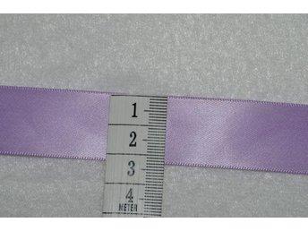 2m lila satinband 2,3 cm, exempel till dopklänning Offray kvalitetsband - Sollentuna - 2m lila satinband 2,3 cm, exempel till dopklänning Offray kvalitetsband - Sollentuna