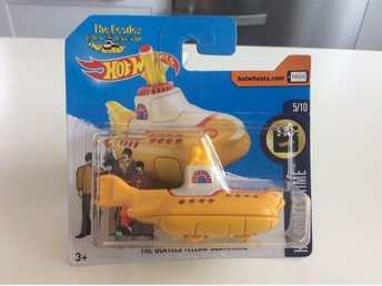 The Beatles Yellow Submarine / HotWheels / Oöppnad