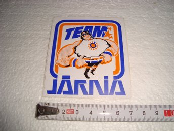 Team Järnia dekal klistermärke - Uppsala - Team Järnia dekal klistermärke - Uppsala